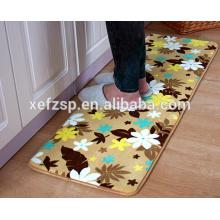 decoración para el hogar100% poliéster baldosas decorativas alfombra impermeable para el baño 100% poliéster alfombra plegable e impermeable para picnic