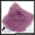 Tay đan Mông Cổ Lamb Fur Fancy Cushion Cover