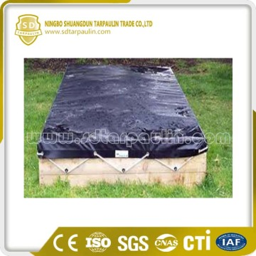Black Sandpit Cover Waterproof Cover Rain Resistant Cover