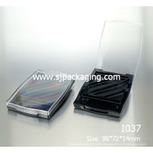 2014 new product plastic eyeshadow cases 4 colors