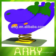High Quality Sports Equipment - Sports Goods - Spring Toys Eggplant