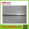 Tooling aluminum tube profile with drilled hole