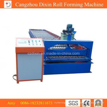 Máquina formadora de rolos de telha de última tecnologia