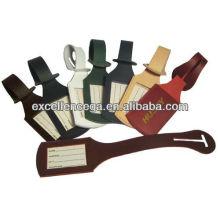 Bulk leather luggage tags