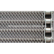 2015 China Hot Sale Stainless Steel Crossrod Wire Mesh Freezer Conveyor Belt