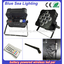 chargeable battery powered led par rgbwa uv 6in1 Party Wedding Uplights