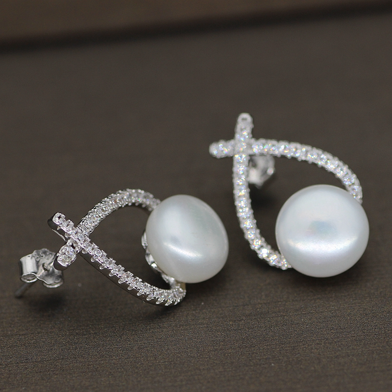 Freshwater Cultured Pearl Earring