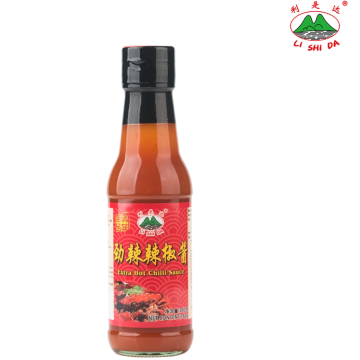 Superwürzige 160g Chilisauce in Glasflasche