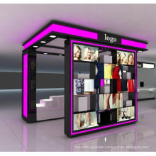 Customized Makeup Wooden Furniture Designs Cosmetic Display Showcase for Sale