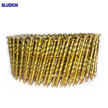 """2"""" x .099 3000 PC 15DEG 6D WIRE SMOOTH COIL NAILS IN COIL"""