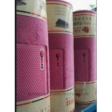 Alfombrillas para coches alfombras de fibra de los PP de pie plano en rollo