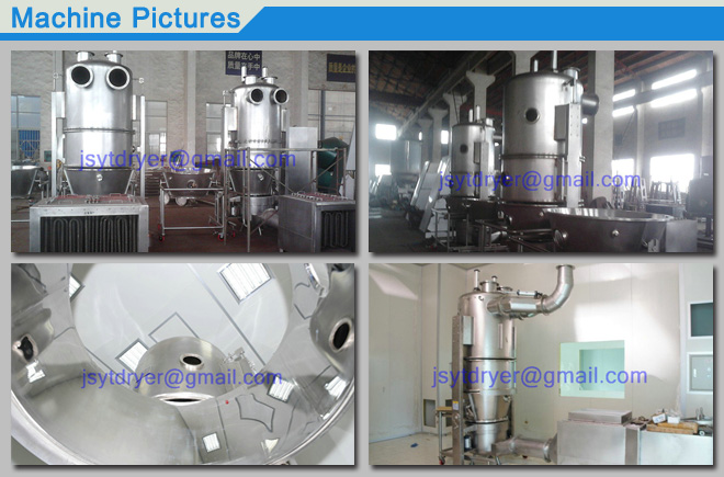 Fluidizing Drying Machine