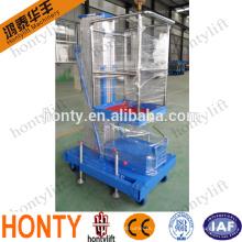 Levantador de la mesa plegable de aluminio ligero para motocicleta / mesa elevadora de aire