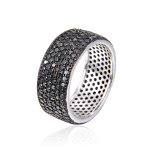 Classic 925 sterling silver wholesale full of stone ladies ring