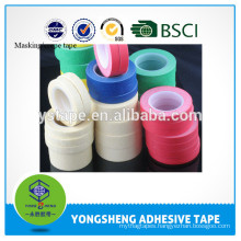 High Quality Heat-Resistant colorful adhesive tape masking