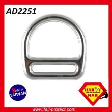 Ligação industrial de liga de alumínio forjada D-ring