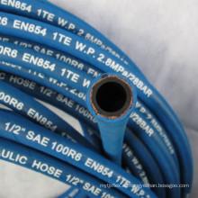Manguera de caucho DIN EN 854 2TE de presión media
