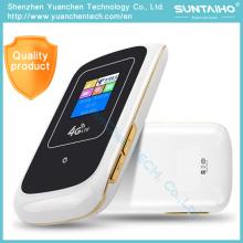 4 G Directamente inserido slot para cartão SIM Roteadores em um telefone celular para receber sinais sem fio