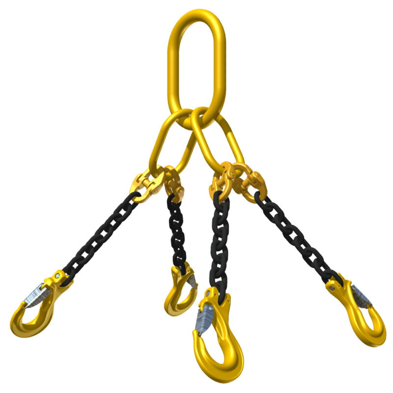 2 legs lifting chain sling