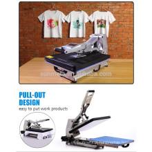 2015 New Sublimation T Shirt Priting máquina de imprensa de calor por estilo hidráulico ST-4050A