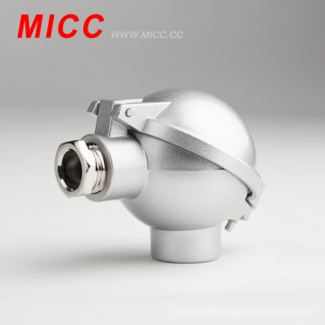 MICC NAA alloy-aluminum junction box thermocouple head screw distance 33mm
