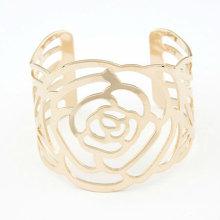 Bracelets à la mode en or Bracelet Hollow Out Rose Bangles BA35