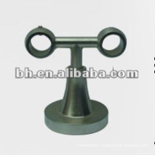 Hot Sell metal iron stainless steel brass single double curtain bracket