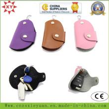 PU or Real Leather Key Bag with Custom Logo
