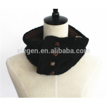 Men Women Fall/Winter Knitted Berber Fleece inside neck gaiter scarf
