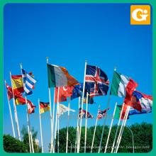 Custom shape country national safety flag