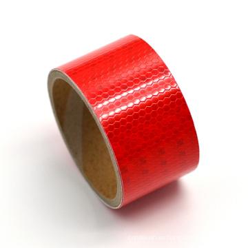 Señales de tráfico dobles de los lados del color, cinta reflectora del doble color para la seguridad del vehículo y del carro