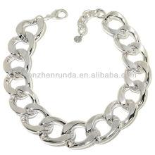 Jóias da forma 2014 suprimentos de prata vners do bracelete