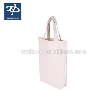 100% cotton canvasenvironmental recycled tote shopping bag
