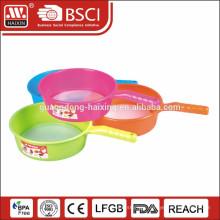 LFGB/FDA Certificate plastic rice strainer with handle