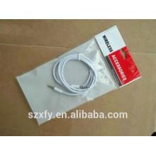 Bolsa de plástico OPP de alambre eléctrico personalizado