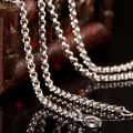 Moda colar de corrente de aço inoxidável para Locket flutuante (NC13-18)