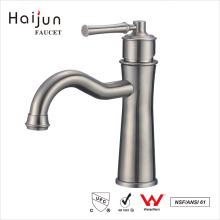 Haijun fábrica directa cubierta montado ahorro de agua grifo del lavabo del cuarto de baño