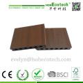 Tablero de piso al aire libre de alta calidad de WPC, piso compuesto de la cubierta Co-Extruding, cubierta de Capstock