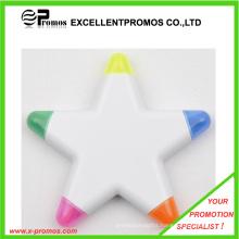 Top Quality Cheap Customized Logo Flower Shape Highlighter Pen (EP-P6266-69)