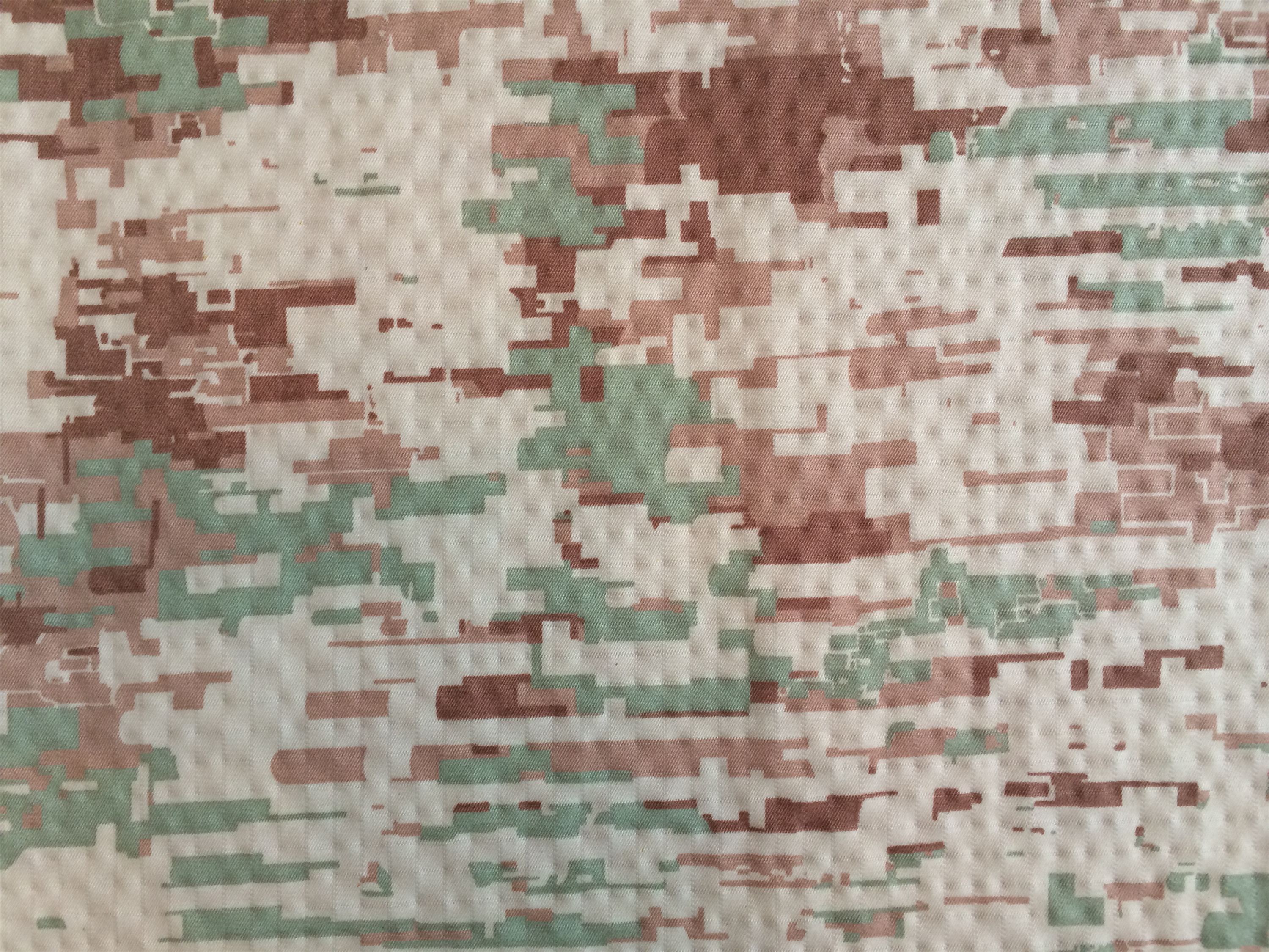 Saudi Arabia Camouflage Rip-stop Fabric with Waterproof