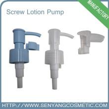 24/410 plastic new screw hand soap pump cream locked pump screw lotion pump dispenser for bottle