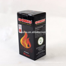 Luz de Hookah Shisha coco Shell carvão rápida briquete de carvão de cubo Coco