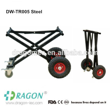 Aluminum alloy funeral cadaver mobile trolley mortuary manufacturers