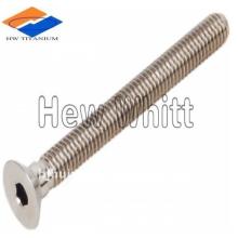 titanium countersunk head screw DIN7991