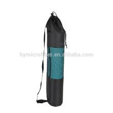 Saco de esteira de ioga de nylon durável logotipo personalizado para mulheres