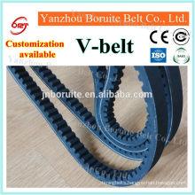 Raw edge v belt used in cars