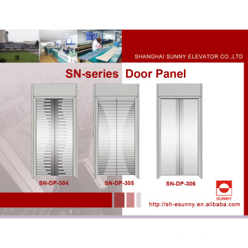 Edelstahl-Ätztür-Platte für Aufzug (SN-DP-304)