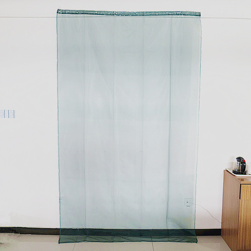 Green Polyester Curtain