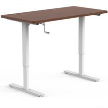 Hand Crank Height Adjustable Manual Lift Standing Desk