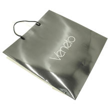 Wholesale Custom Logo Printing Food Take Away Brown craft Paper Bag With Handle